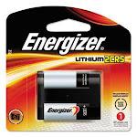 Energizer e2 Lithium Photo Battery, 2CR5, 6Volt (EVEEL2CR5BP)