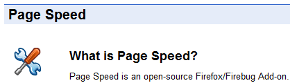 Page Speed, una extensión de Firefox para mejorar el rendimiento de tu web.