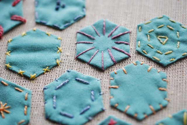 Hexagon Stitch Art