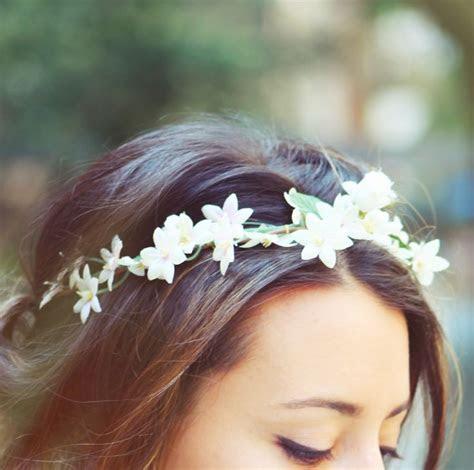 1000  ideas about White Flower Crown on Pinterest   Flower