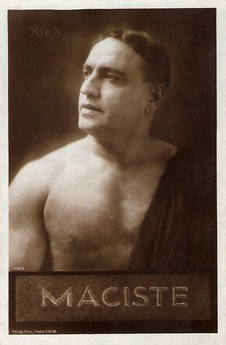 Bartolomeo Pagano alias Maciste
