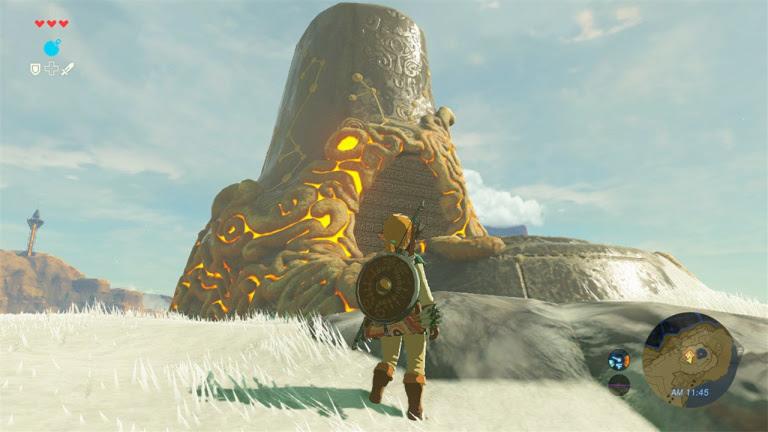 Zelda Breath Of The Wild Sanctuaires Emplacements Et