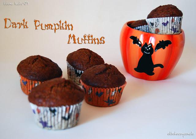 dark pumpkin muffins