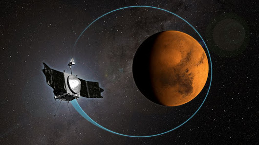 What NASA's MAVEN Probe Has Learned From 1,000 Mars Orbits - ABC News