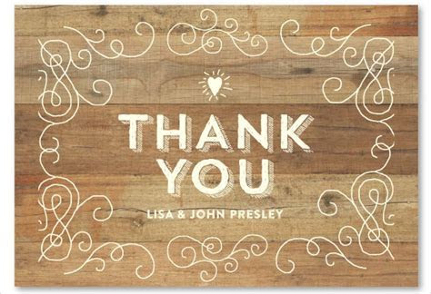 10  Rustic Thank You Cards   Free Sample, Example, Format