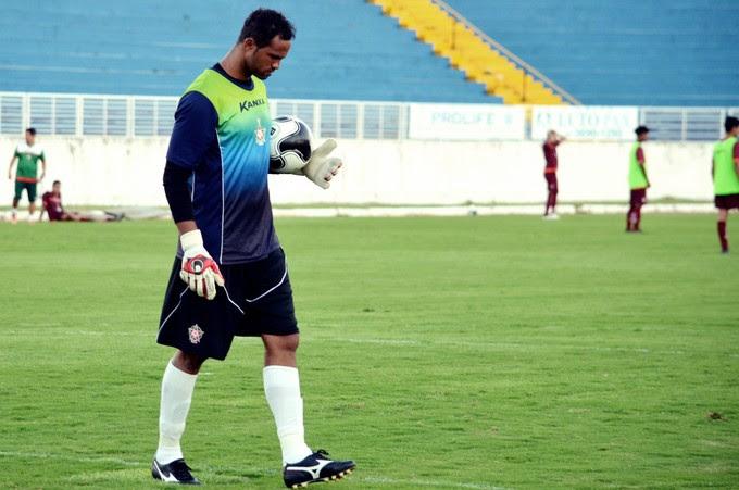 Bruno Fernandes goleiro Boa Esporte (Foto: Régis Melo)