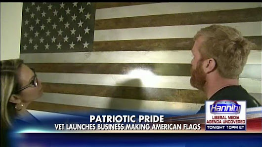 A Utah Air Force Veteran Is Hand-Making American Flags Out of Steel