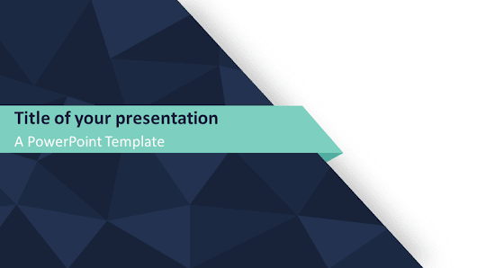 6 brand new free abstract powerpoint templates with geometric abstract triangle pattern powerpoint template presentationgo toneelgroepblik Gallery