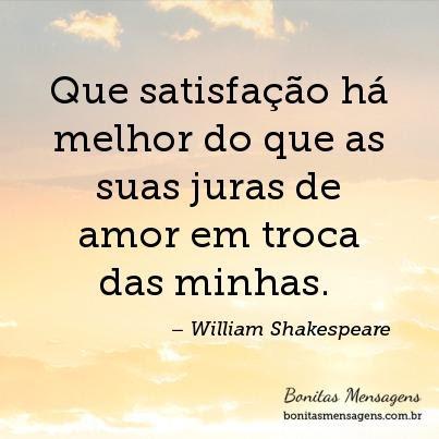 Frases De Amor De William Shakespeare Lindas Frases Curtas E