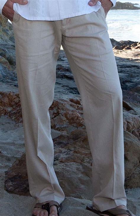 verona formal style italian linen designer pants