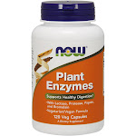 Now Plant Enzymes, Veg Capsules - 120 capsules