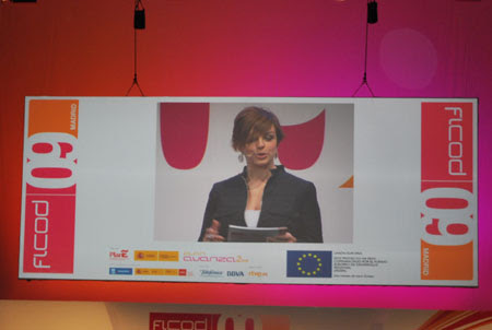 Cristina Villanueva Presentadora en Ficod 2009