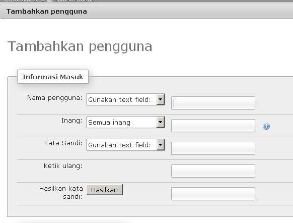 Install SliMS Cendana SLiMS Meranti Di Linux Buat User Isi Form