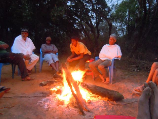 Brahmagiri_Trek_Forest_Rest_House_Campfire