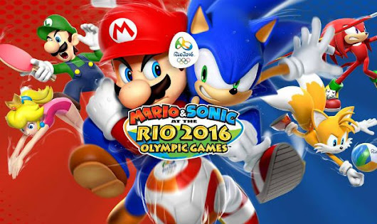 Win a Gold Medal with Mario & Sonic at the Rio 2016 Olympic Games - Game On Mom