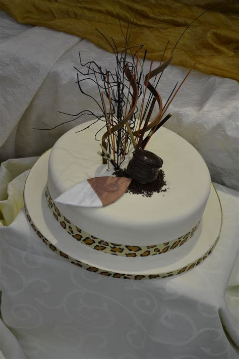 Wedding cake   South African traditional wedding   African