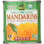 Native Forest Organic Mandarin - Oranges - Case of 6 - 10.75 oz.