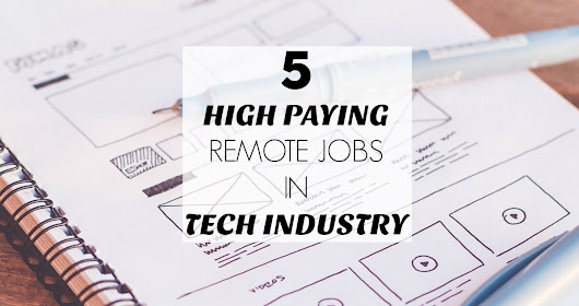 5 High Paying Remote Jobs in Tech Industry - Crowd Work News