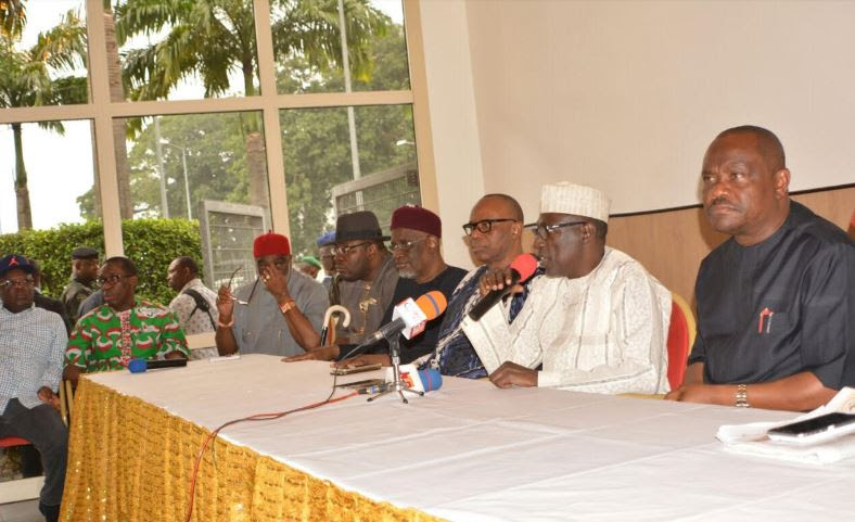 What Makarfi told PDP chairmanship aspirants in closed-door meeting