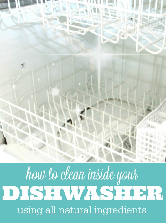 Get A Clean Dishwasher Using Two Ingredients - Mom 4 Real
