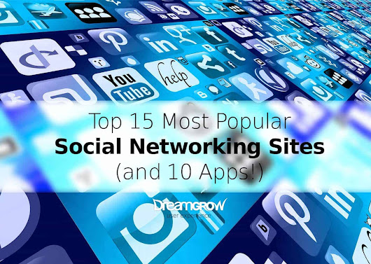 Top 15 Most Popular Social Networking Sites and Apps [August 2018] @DreamGrow
