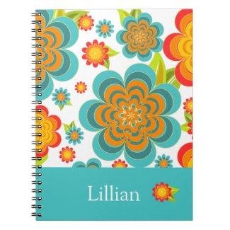 Summer Floral Notebook