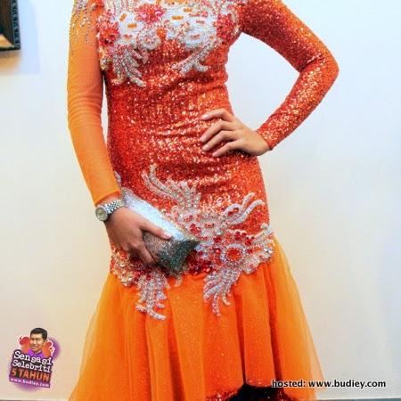Tasha Shila di Anugerah Skrin 2012