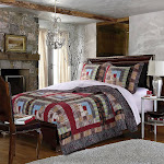 Greenland Colorado Lodge Multi Colored Quilt Set - Twin Multi