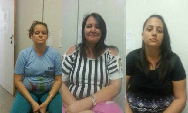 Um crime em família segundo delegado: a mãe Lucineia, a tia Adriana e a irmã Priscila teriam planejado o crime contra ex-esposa de jovem / Foto: Reprodução/TV Jornal.