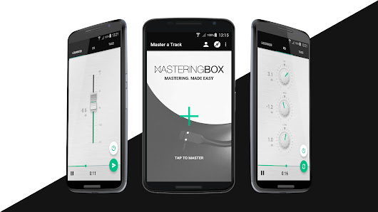 MasteringBOX makes history by releasing first mastering app for Android | MasteringBOX