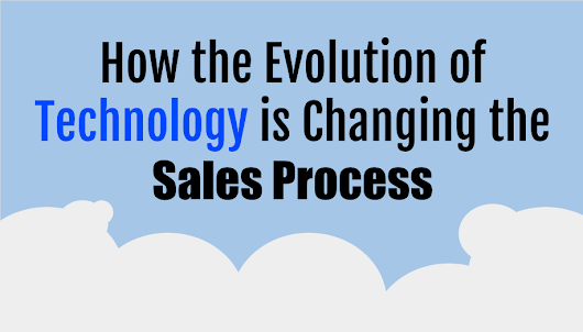 How the Evolution of Technology is Changing the Sales Process