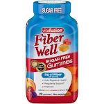 Vitafusion Fiber Well Gummies - Peach, Strawberry & Berry - 90ct