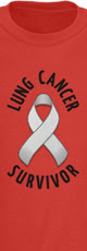 Lung Cancer Survivor shirt
