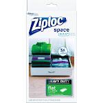 Ziploc Space Bag Heavy Duty, Large, 3 ct