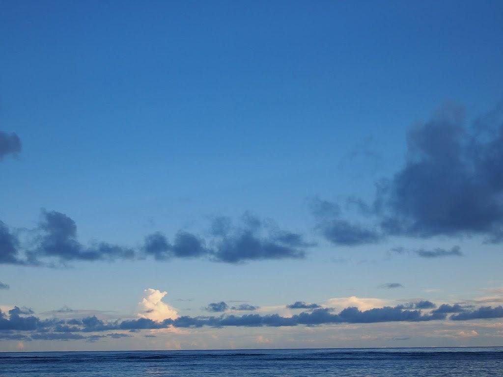 Sunrise, Tanu Beach