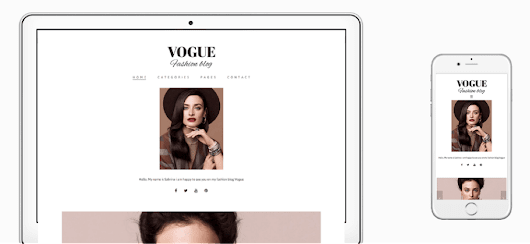 Vogue WordPress Fashion Blog Theme