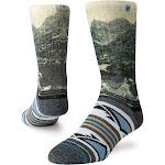 Stance Men's Cloud Ripper Outdoor Socks Black