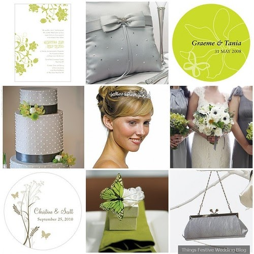 Gray and chartreuse wedding color palette perfect for for What color goes with chartreuse
