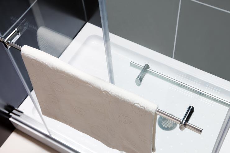 Dreamline Showers Duet Frameless Sliding Shower Doorshower Door