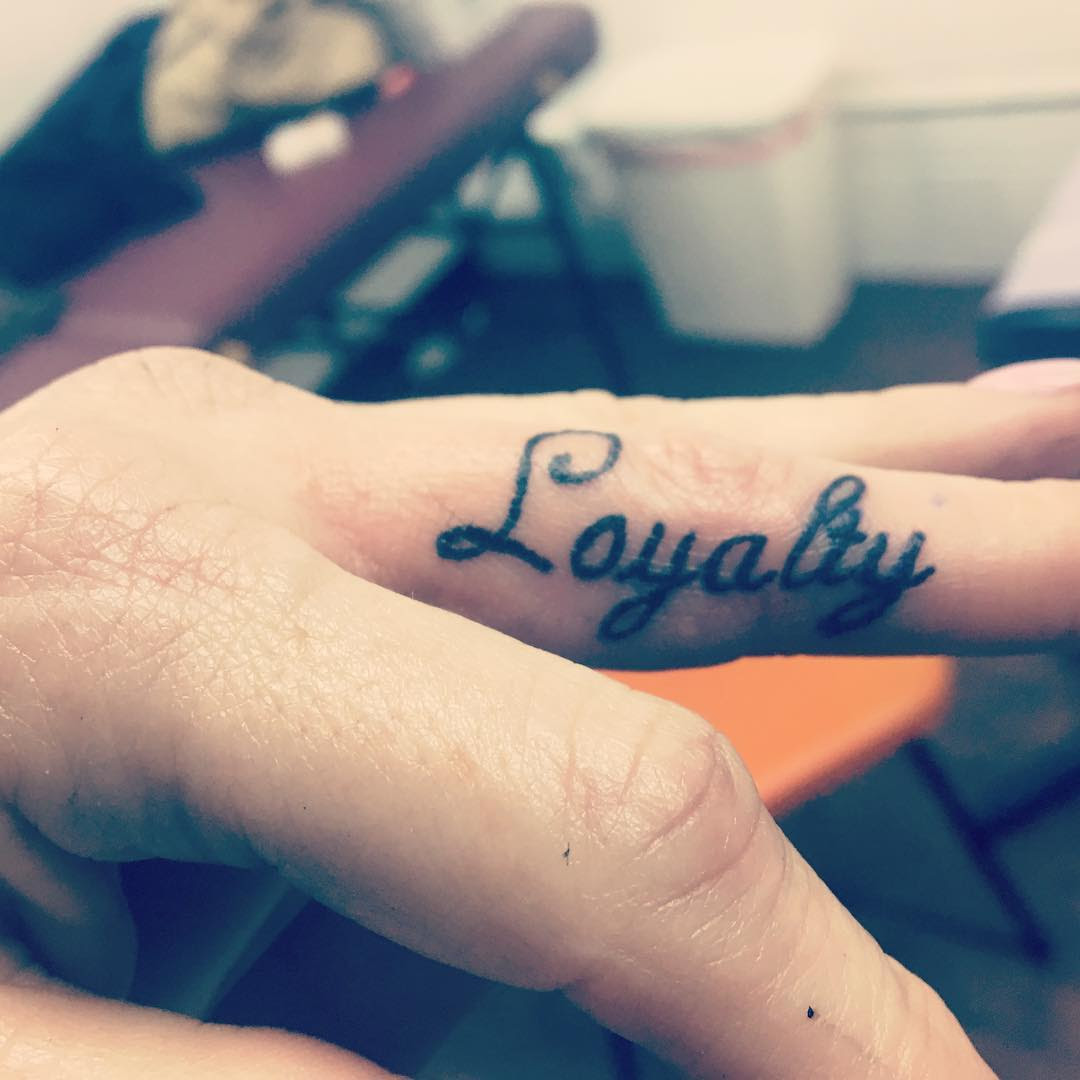 55 Best Loyalty Tattoo Designs Meanings Courage Honor 2019