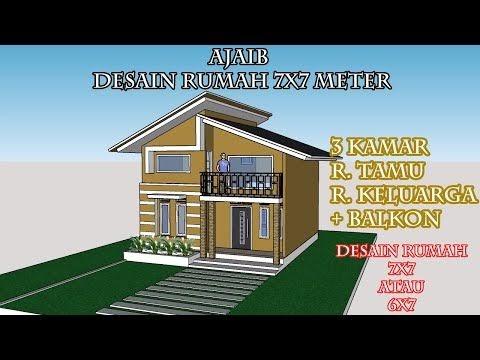 Rumah Ukuran 6x7 2 Lantai Rumah Minimalis