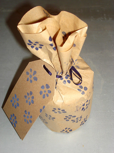 Geschenkpack mit Karte