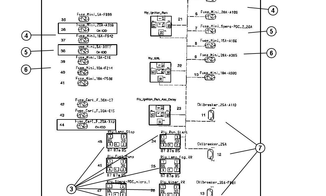 2004 Buick Rendezvous Fuse Box Diagram