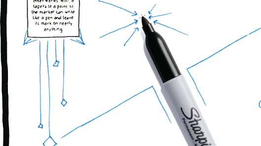 How Sharpie Left Its Mark Everywhere From Facebook to the White House