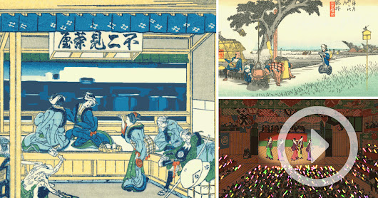 Japanese Artist Places a Modern Spin on Centuries-Old Woodblock Prints Through Animated GIFs
