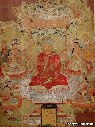 Buddha Preaching the Law
