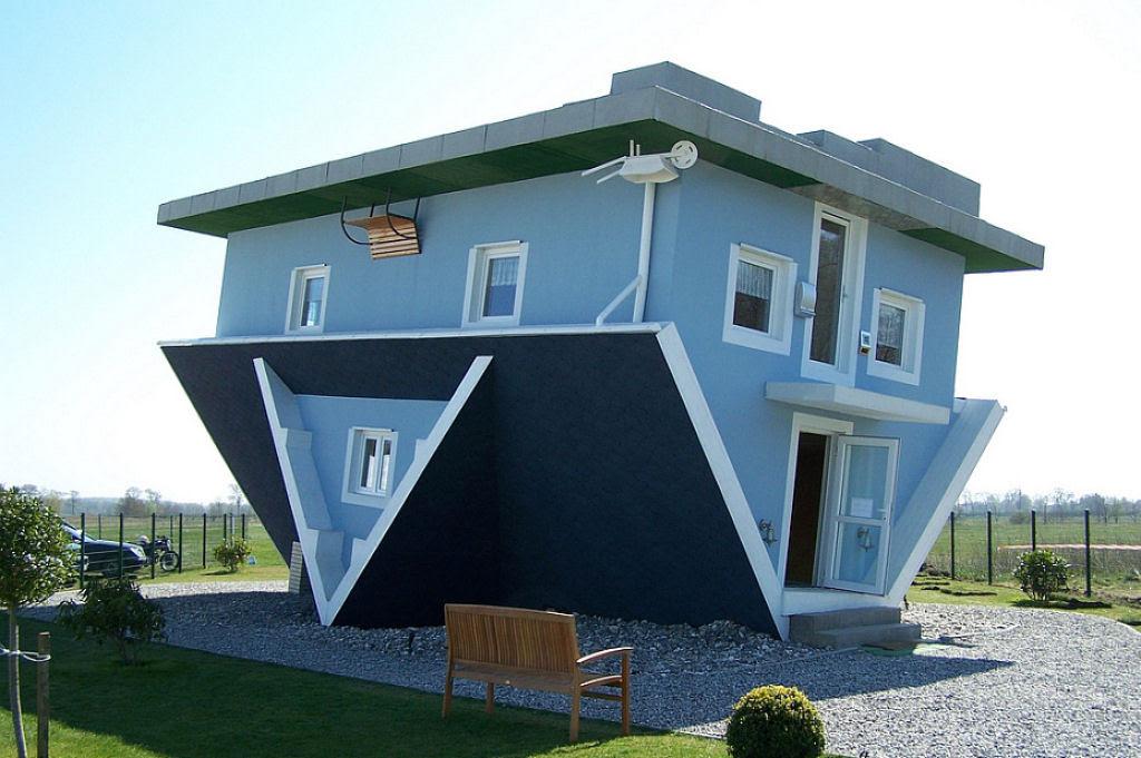 As casas mais bizarras e surpreendentes ao redor do mundo 01