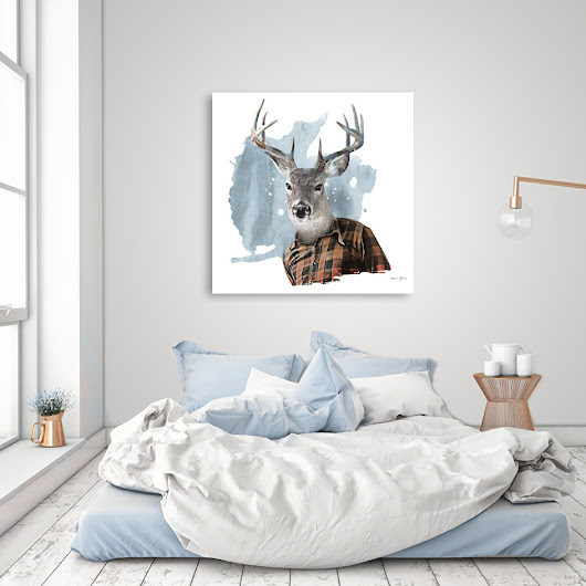 «The Woodsman», Numbered Edition Oeuvres sur Aluminium by Claude Peyrouse - From $59 - Curioos