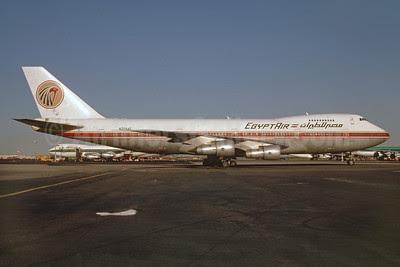 EgyptAir Boeing 747-2B4B N204AE (msn 21099) JFK (Keith Armes). Image: 912272.