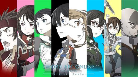 SAO Ordinal Scale Anime Movie Charac  Wallpaper #12240